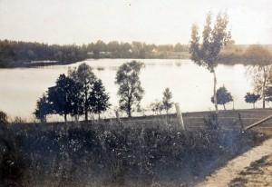 historia, widok, panorama, jezioro, czarna kuta, wieś kuty, mazury, polska
