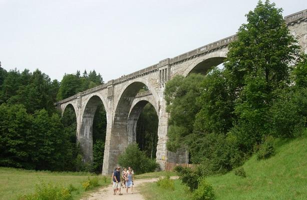 wiadukty kolejowe w Stańczykach