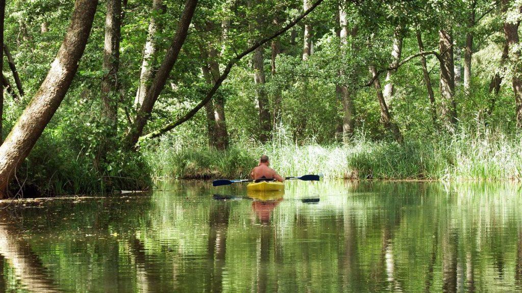 Spływ rzeką Sapiną