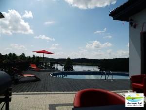 Dom z widokiem na jezioro Żywki Małe