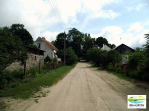 Kuty - droga do rezerwatu Piłackie Wzgórza