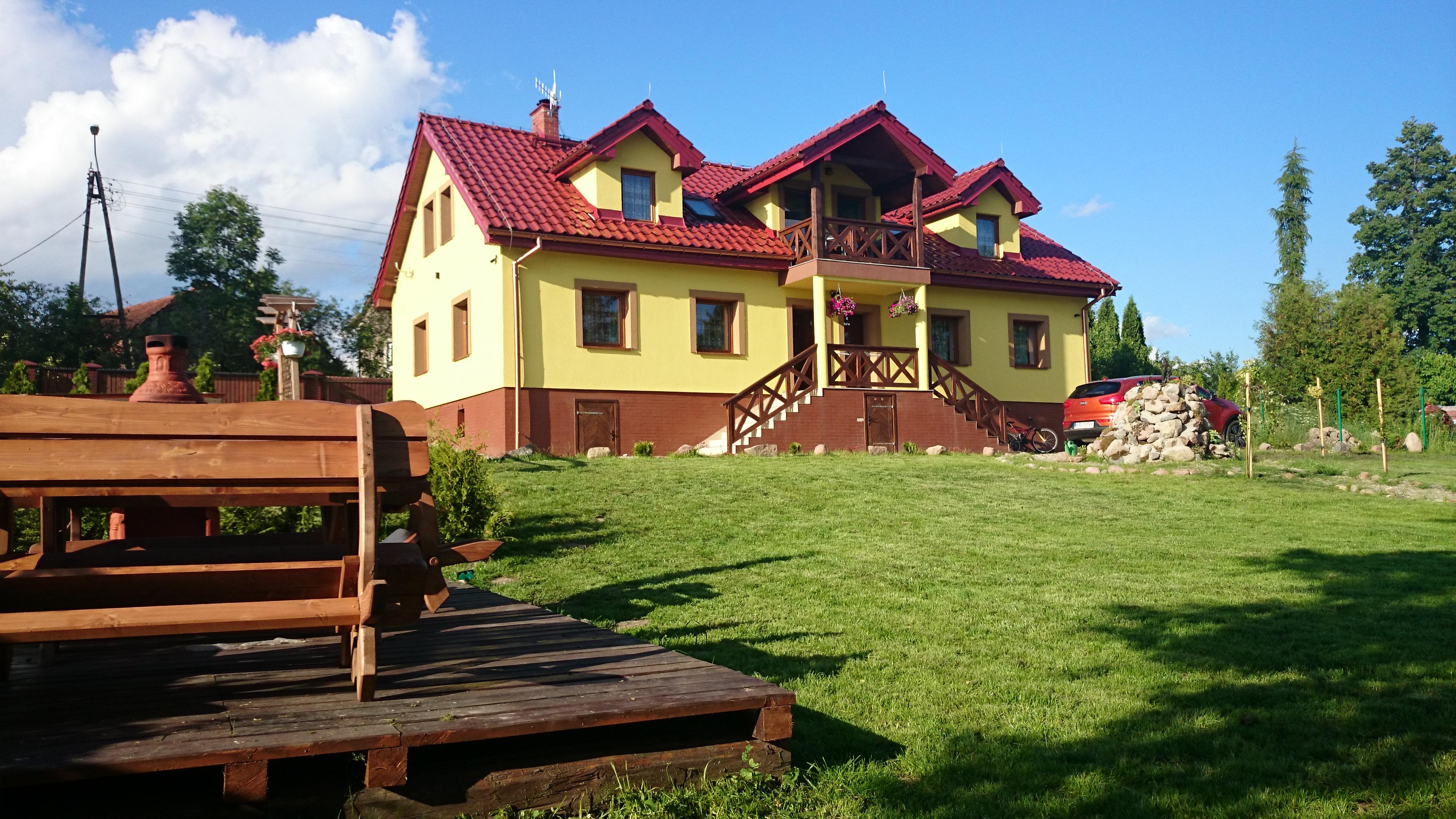 Mazurski Raj - opis domu i posesji