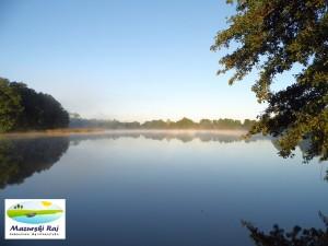 jezioro, czarna kuta, wieś kuty, zdjęcie, widok, ranek, lato, mazurski raj