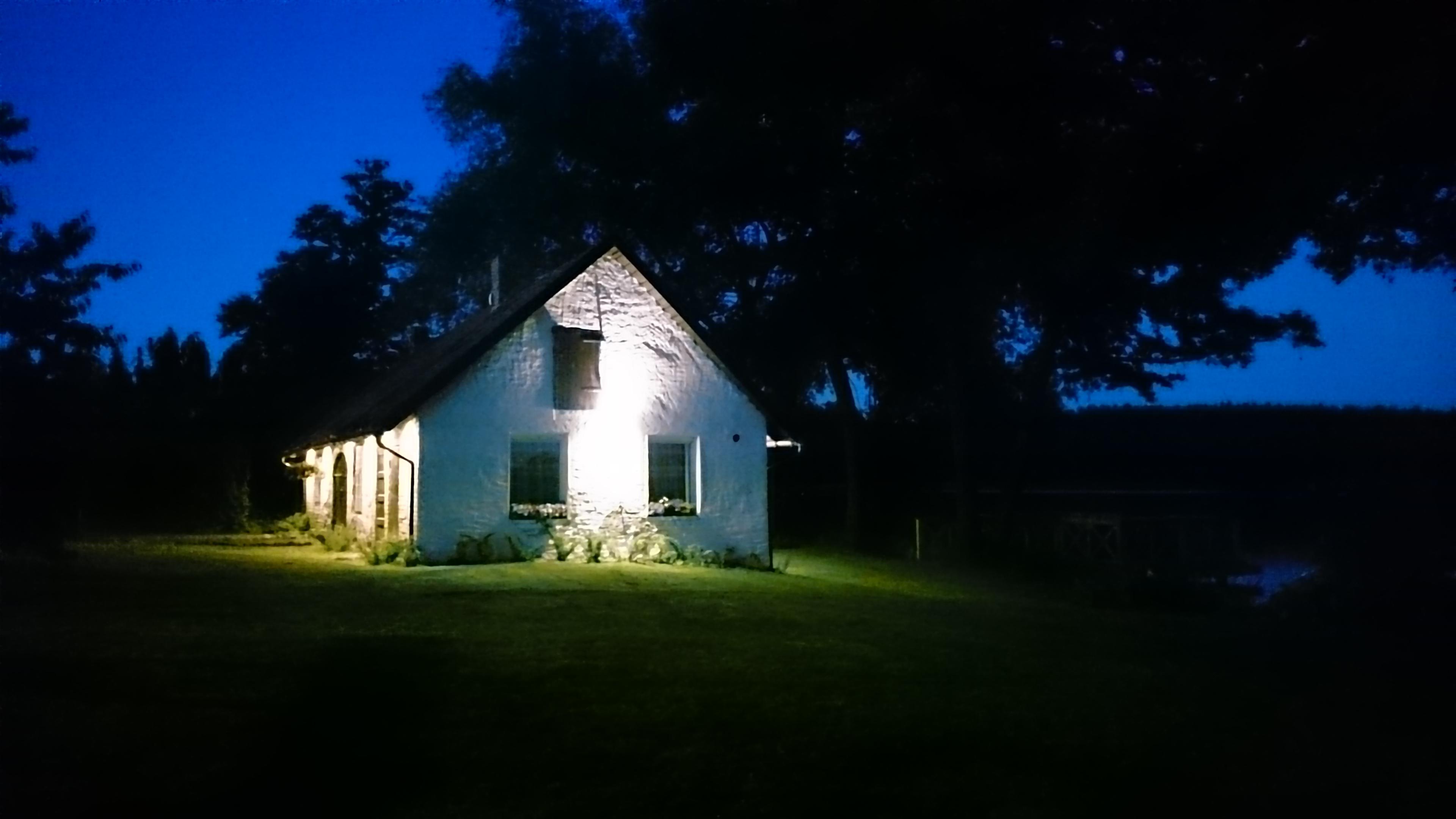 oswietlona kuźnia, budynek