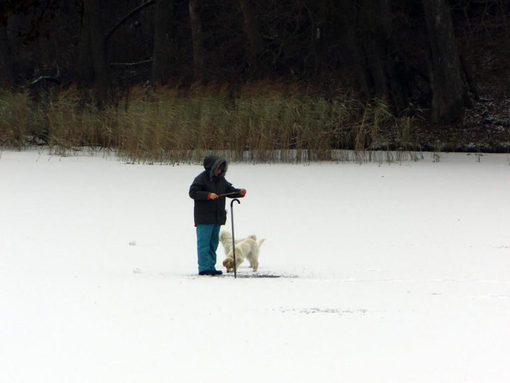 Zima 2015, połowy spod lodu