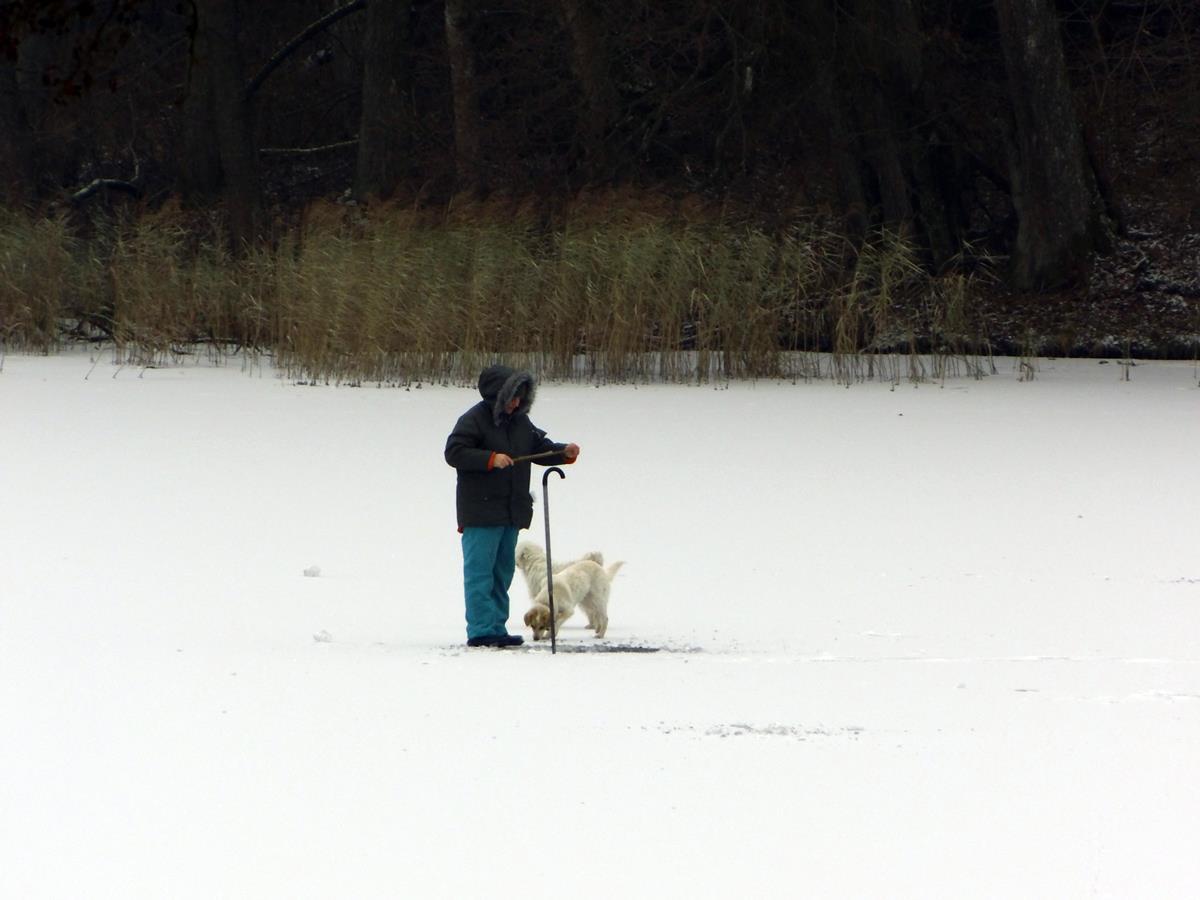 Łowienie ryb spod lodu
