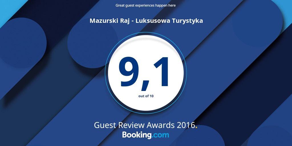 Ocena Booking.com za 2016 rok - 9,1 punktu