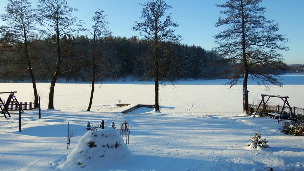 Zima w Mazurskim Raju