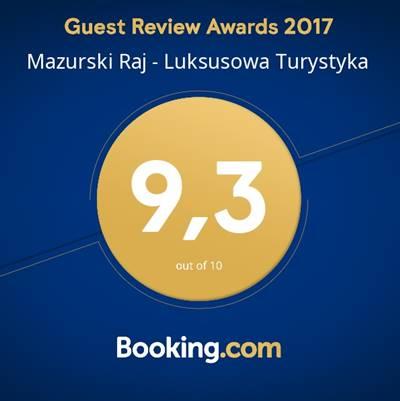 Ocena 9,3 z Booking.com